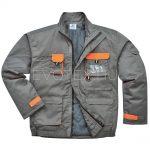 Portwest® Texo Contrast TX18 bélelt kabát – szürke